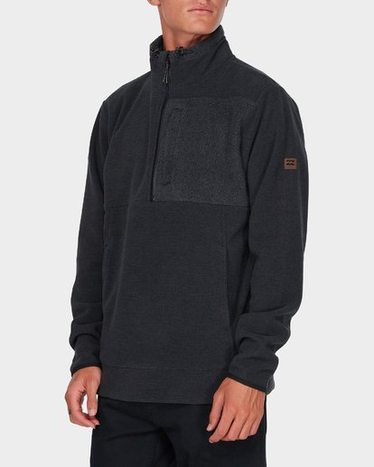 1 BOUNDARY MOCK HALF ZIP Black 9595621 Billabong