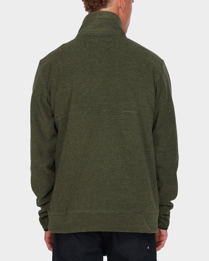 2 BOUNDARY MOCK HALF ZIP Green 9595621 Billabong