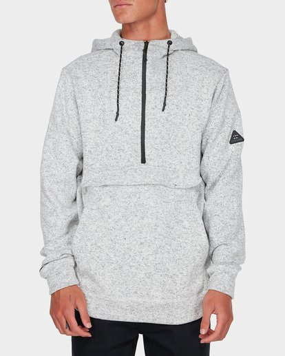 0 BOUNDARY PULL OVER HOOD Grey 9595622 Billabong