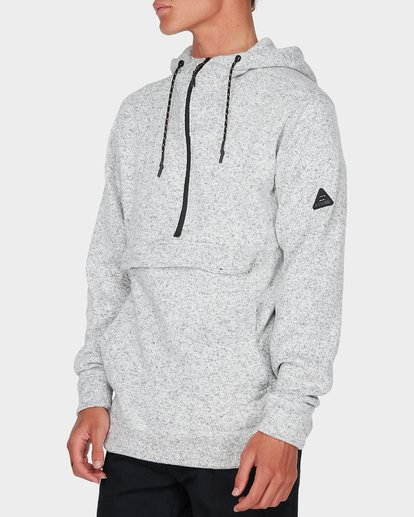 1 BOUNDARY PULL OVER HOOD Grey 9595622 Billabong
