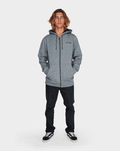 4 Adiv Mainland Zip Fleece Grey 9595626 Billabong