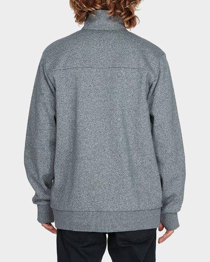 2 Adiv Mainland Zip Fleece Grey 9595626 Billabong