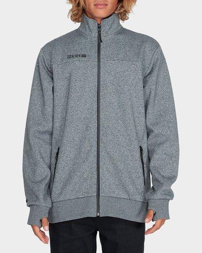 0 Adiv Mainland Zip Fleece Grey 9595626 Billabong