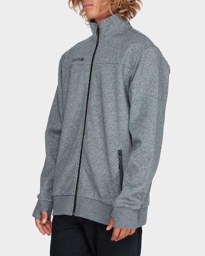 1 Adiv Mainland Zip Fleece Grey 9595626 Billabong