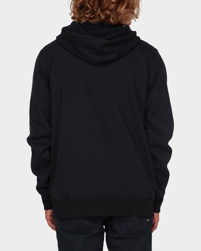 2 ADIV SHORELINE FURNACE ZIP HOOD Black 9595628 Billabong