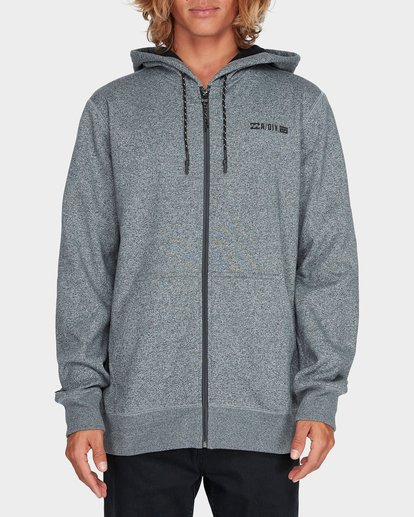 0 ADIV SHORELINE FURNACE ZIP HOOD Grey 9595628 Billabong
