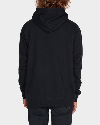 2 NEVER STACK POP HOOD Black 9595632 Billabong