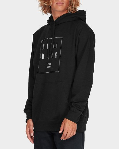 1 NEVER STACK POP HOOD Black 9595632 Billabong