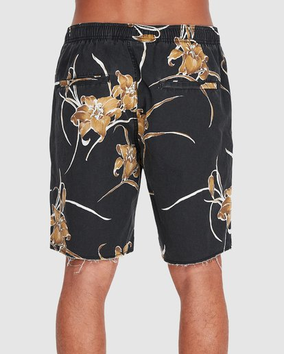 "2 SUNDAYS ELASTIC 17"" BOARDSHORT Black 9595702 Billabong"