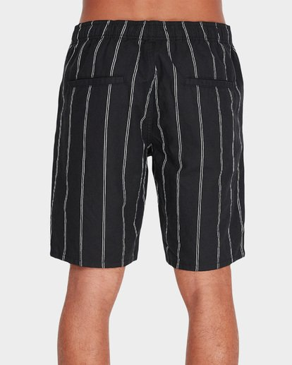 3 VERTICAL STRIPE ELASTIC WALKSHORT Black 9595704 Billabong