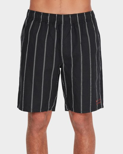 1 VERTICAL STRIPE ELASTIC WALKSHORT Black 9595704 Billabong