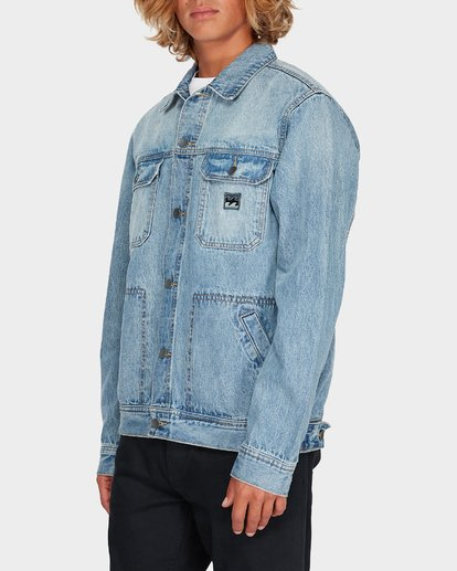 1 REVERT DENIM JACKET White 9595905 Billabong