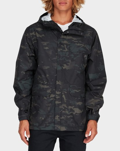 0 BUNKER MULTICAM JACKET Camo 9595908 Billabong