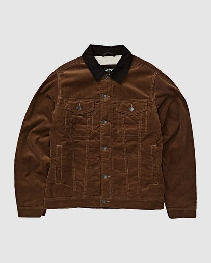 3 Barlow Trucker Jacket Brown 9595912 Billabong