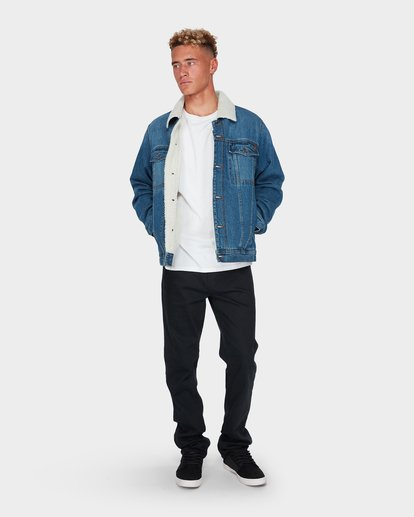 5 BARLOW TRUCKER JACKET Blue 9595912 Billabong