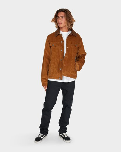 4 Barlow Trucker Jacket Brown 9595912 Billabong