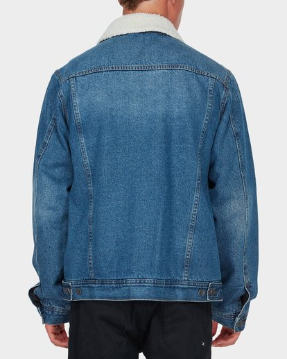 2 Barlow Trucker Jacket Blue 9595912 Billabong