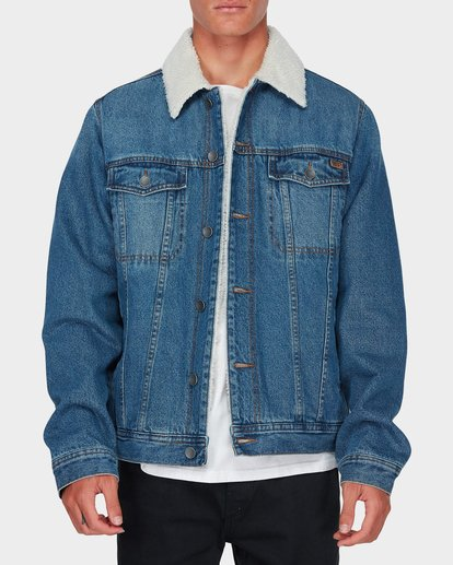 0 Barlow Trucker Jacket Blue 9595912 Billabong