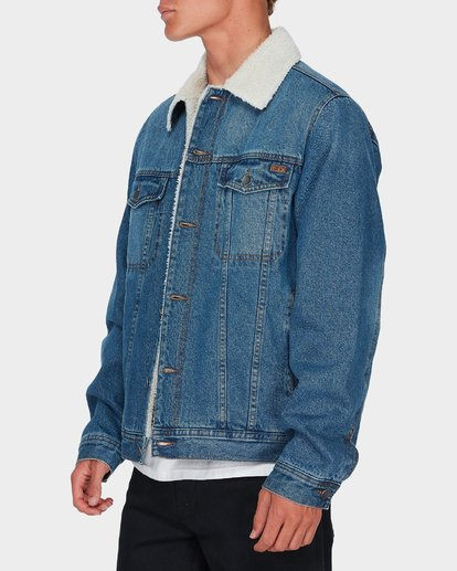 1 Barlow Trucker Jacket Blue 9595912 Billabong