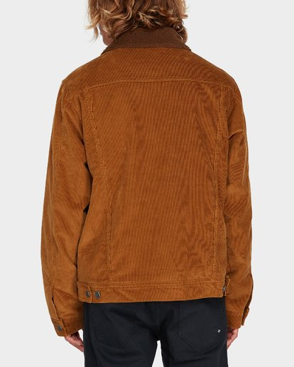 2 Barlow Trucker Jacket Brown 9595912 Billabong