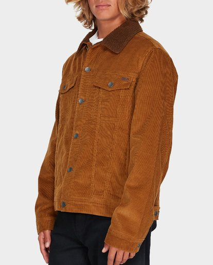 1 Barlow Trucker Jacket Brown 9595912 Billabong