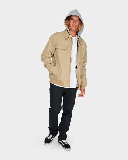 4 BARLOW TWILL JACKET Pink 9595916 Billabong