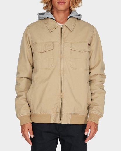 0 BARLOW TWILL JACKET Pink 9595916 Billabong