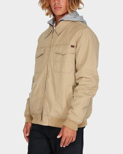 1 BARLOW TWILL JACKET Pink 9595916 Billabong