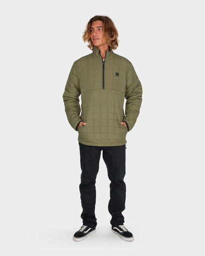 4 BOUNDARY REVO PUFFER JACKET Green 9595918 Billabong