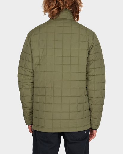 2 BOUNDARY REVO PUFFER JACKET Green 9595918 Billabong