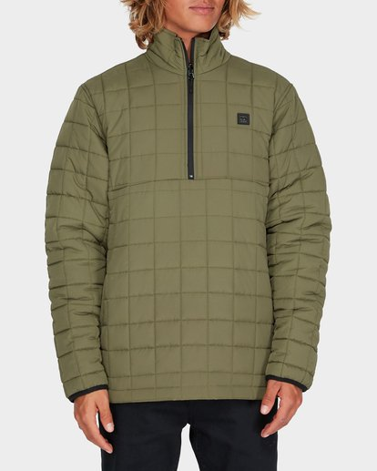 0 BOUNDARY REVO PUFFER JACKET Green 9595918 Billabong