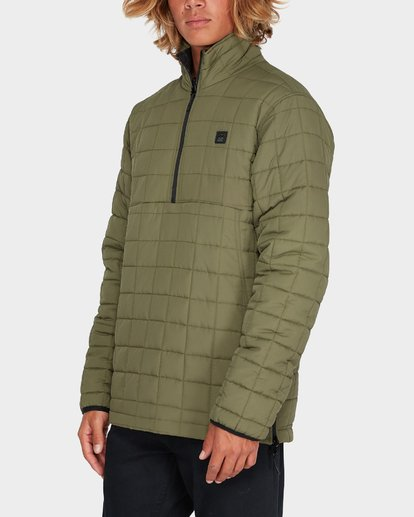 1 BOUNDARY REVO PUFFER JACKET Green 9595918 Billabong