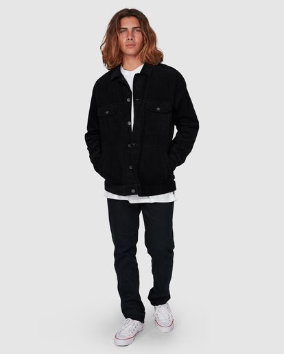 6 The Cord Arch Jacket Black 9595919 Billabong