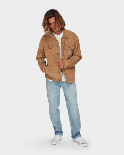 4 The Cord Arch Jacket Brown 9595919 Billabong