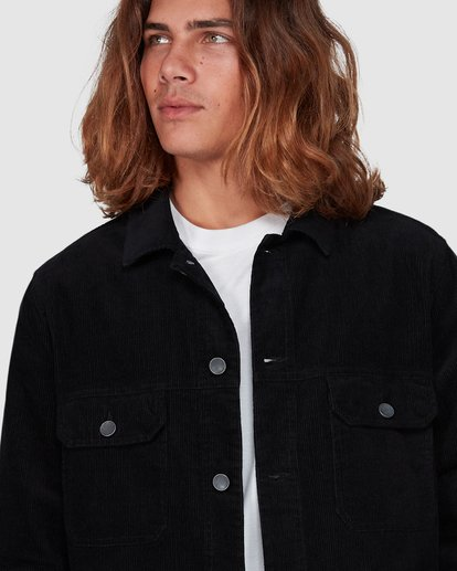 3 The Cord Arch Jacket Black 9595919 Billabong