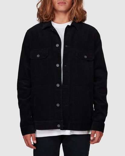 0 The Cord Arch Jacket Black 9595919 Billabong