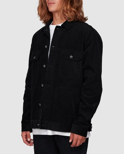 1 The Cord Arch Jacket Black 9595919 Billabong