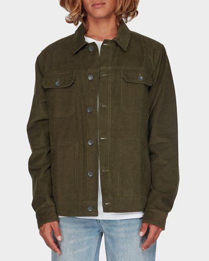 0 CORD JACKET Green 9595919 Billabong