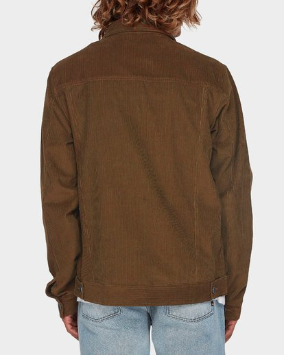 2 The Cord Arch Jacket Brown 9595919 Billabong