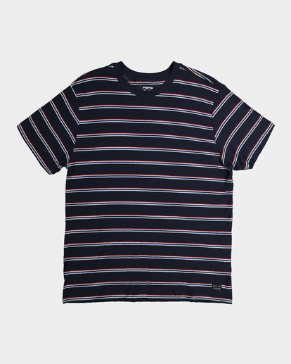 3 Die Cut Stripe Tee Blue 9596003 Billabong