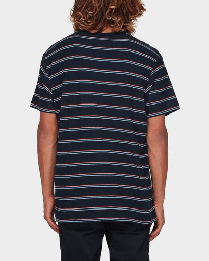 2 Die Cut Stripe Tee Blue 9596003 Billabong