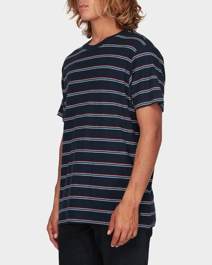 1 Die Cut Stripe Tee Blue 9596003 Billabong