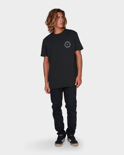 3 CIRCLE WORK TEE Black 9596024 Billabong