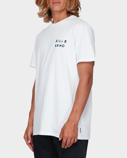 1 DIE CUT THEME TEE White 9596028 Billabong