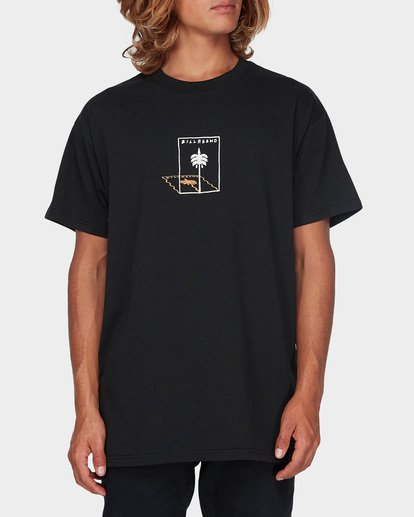 0 SLURPEE DANCER TEE Black 9596029 Billabong