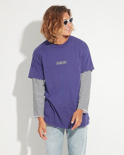 3 Barbarella Tee Purple 9596030 Billabong