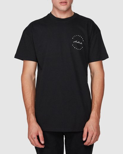 0 Balance Tee Black 9596054M Billabong
