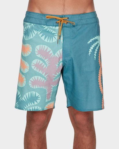 0 STRANGE FLORA PRO BOARDSHORT Orange 9596412 Billabong
