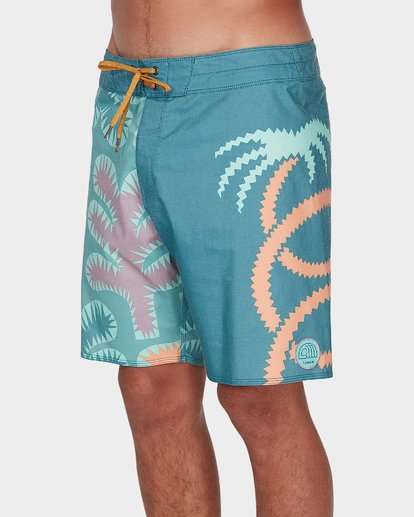 1 STRANGE FLORA PRO BOARDSHORT Orange 9596412 Billabong