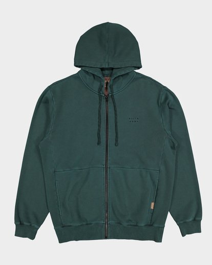 4 THICK WAVE WASH FLEECE Green 9596613 Billabong